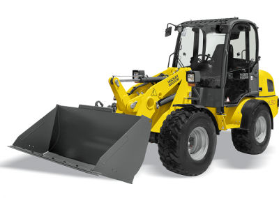 1yd Compact Articulating Wheel Loader