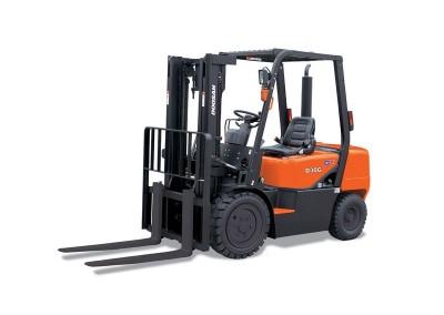 6,000lbs Semi-Pneumatic Forklift