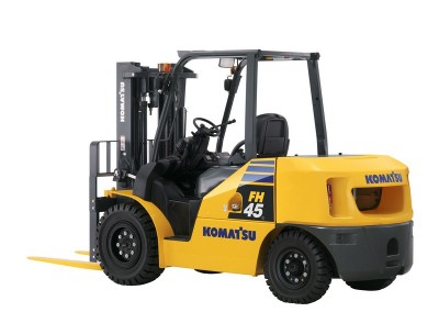 10,000lbs Semi-Pneumatic Forklift