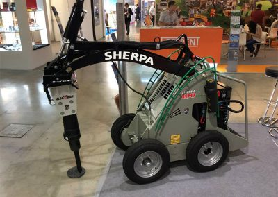 Breaker for Electric Walk-Behind Skidsteer
